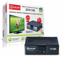 D-Color DC911HD ECO Ресивер DVB-T2