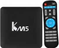 INVIN Смарт ТВ KM5 Android TV Box ТВ приставка