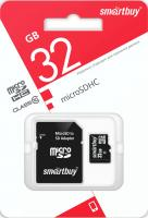 MicroSDHC 32 Gb SmartBuy class 10 LE  SB32GBSDCL10