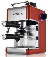 CENTEK CT-1161 red+SS Кофеварка